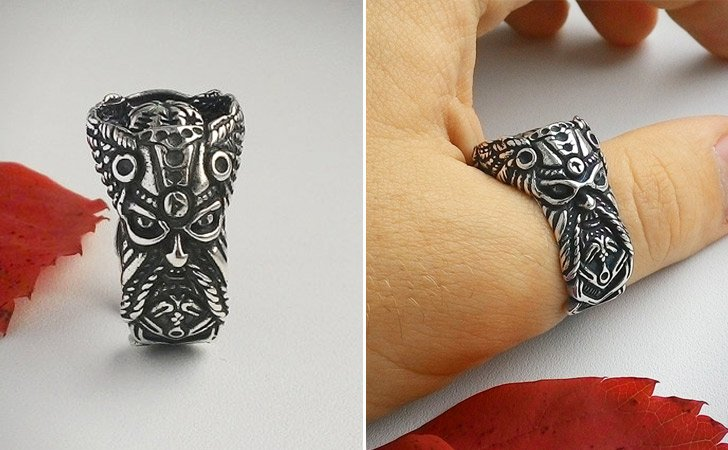 The Viking Thor Ring - Cool Rings For Men
