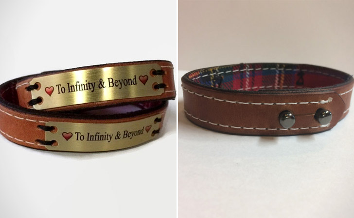 To Infinity And Beyond Bracelet Set - Matching Bracelets For Couples
