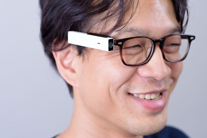 Wink Activation Camera Glasses