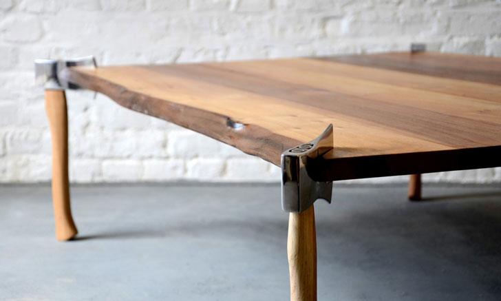 Woodsman Axe Coffee Table