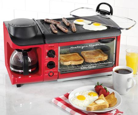 3-in-1 Retro Breakfast Station
