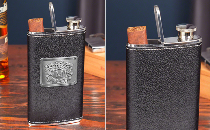 Authentic 2-in-1 Cigar Flask