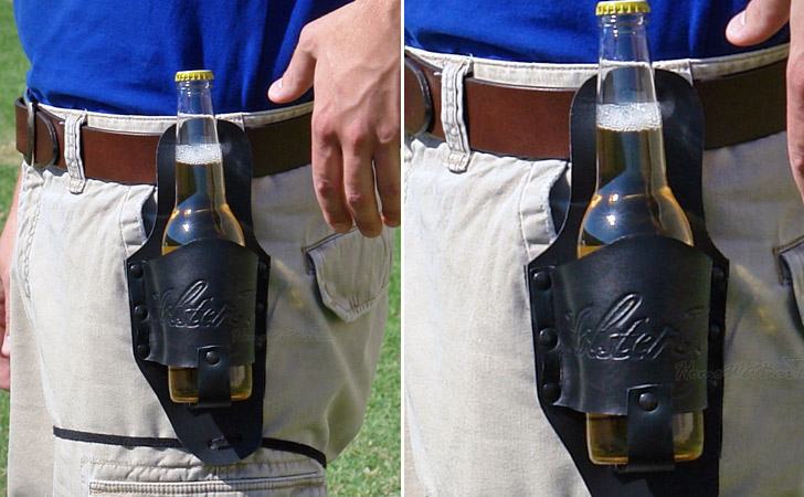 Beer Holster - creative gifts for boyfriends