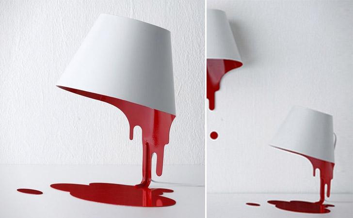 Bleeding Liquid Lamp