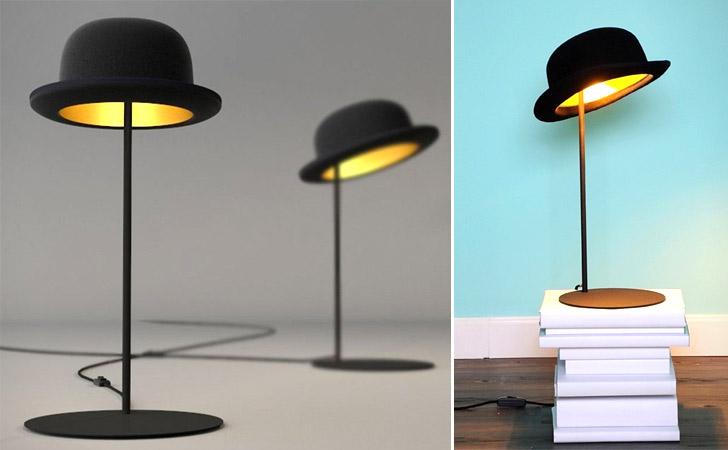Bowler Hat Table Lamp