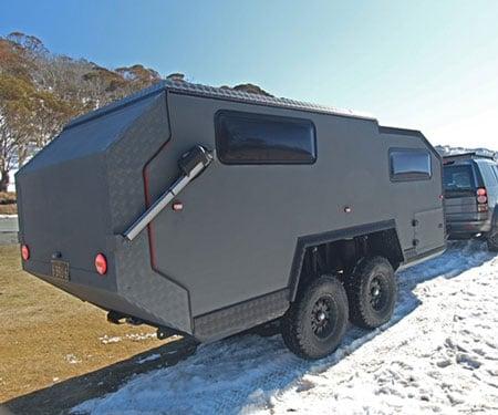 BruderX Ultimate Off-Road Traveling Home