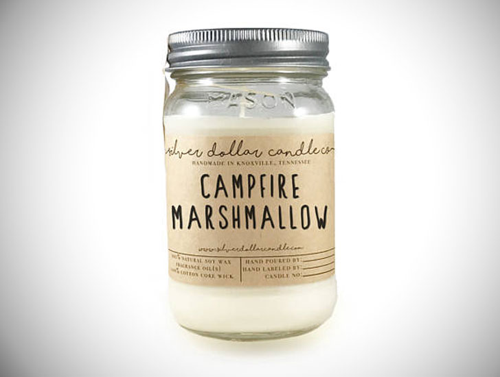 Campfire Marshmallow Scented Candles