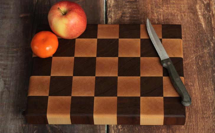 Checker Board End Grain Cutting Boards