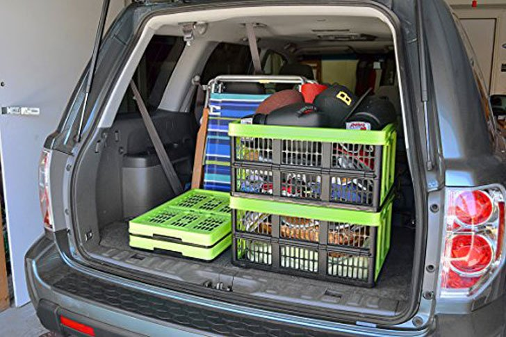 CleverMade Collapsible Storage Crate