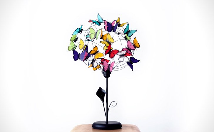 Colorful Butterflies Table Lamp