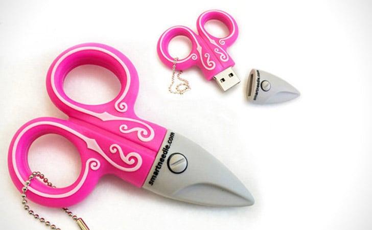 Crafting Scissors USB Flash Drive