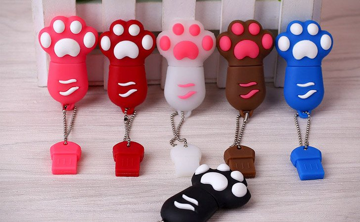 Cute Cats Paw USB