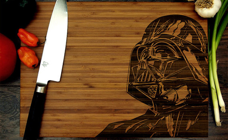 Darth Vader Cutting Boards - cool cutting boards