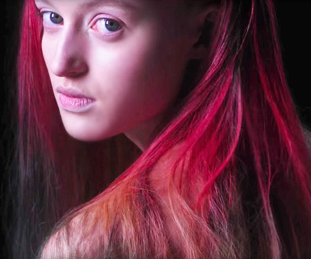 Fire Color-Changing Hair Dye