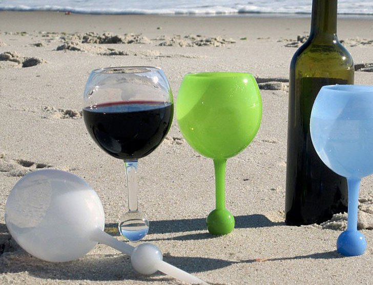 Floating Wine Glasses