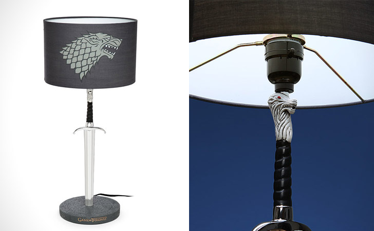 Game Of Thrones Longclaw Table Lamp - unique table lamp