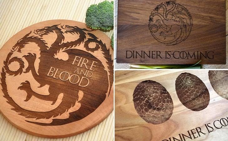 Game Of Thrones Targaryen Cutting Boards - cool cutting boards
