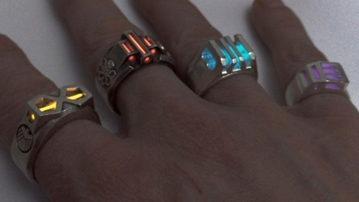 Glowing Infinity Stone Rings