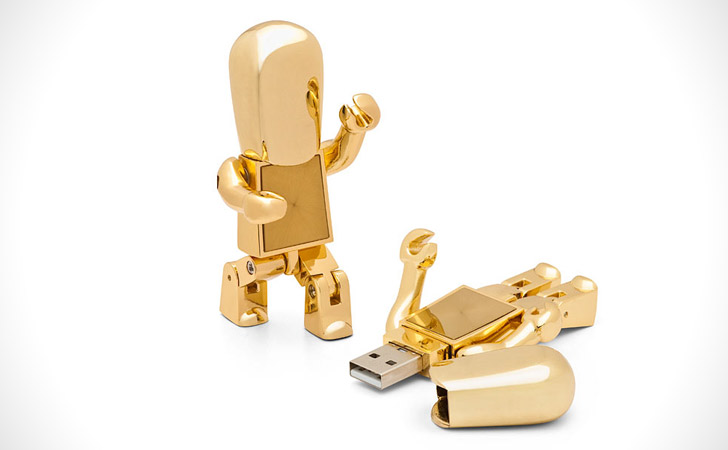 Golden Robot USB
