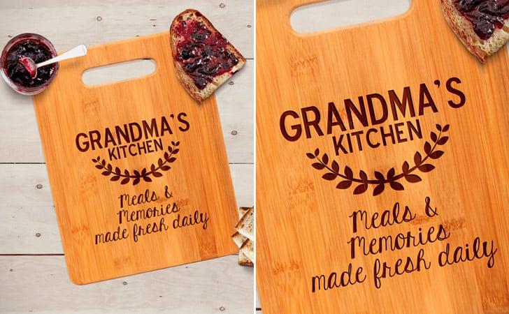Grandma's Kitchen Cutting Board