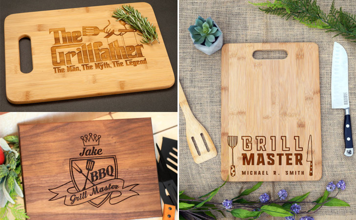 Grill Master Cutting Boards - cool cutting boards