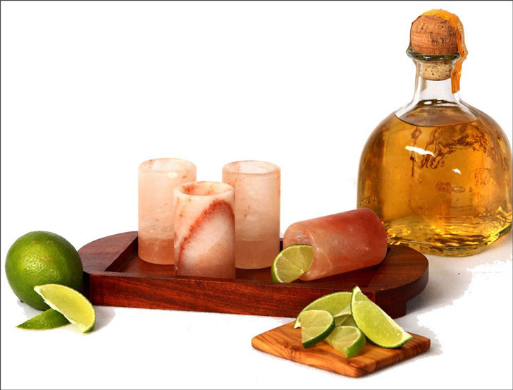Himalayan Salt Tequila Glasses