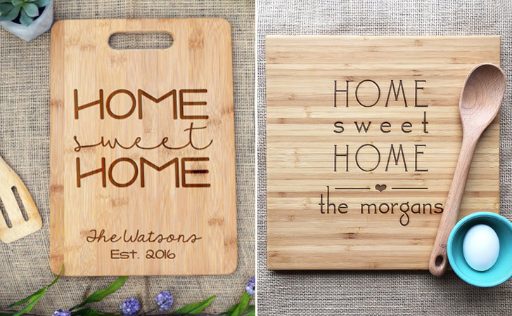 Home Sweet Home Cutting Boards