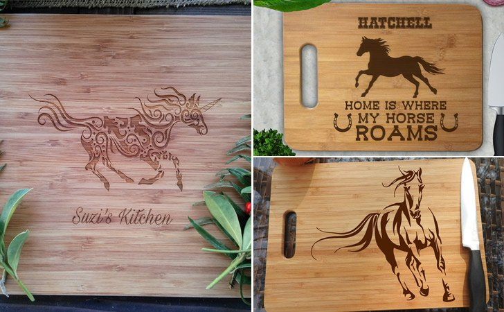 Horse Lovers Cutting Boards