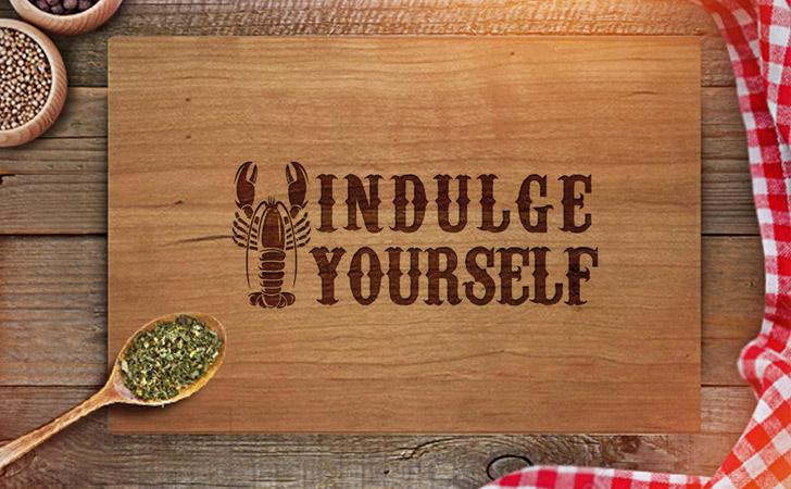 Indulge Yourself Cutting Board