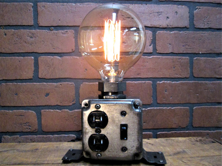 Industrial Charging Station Lamp