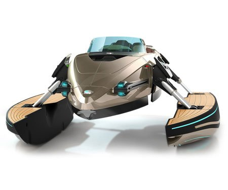Kormaran K-7 Transforming Watercraft