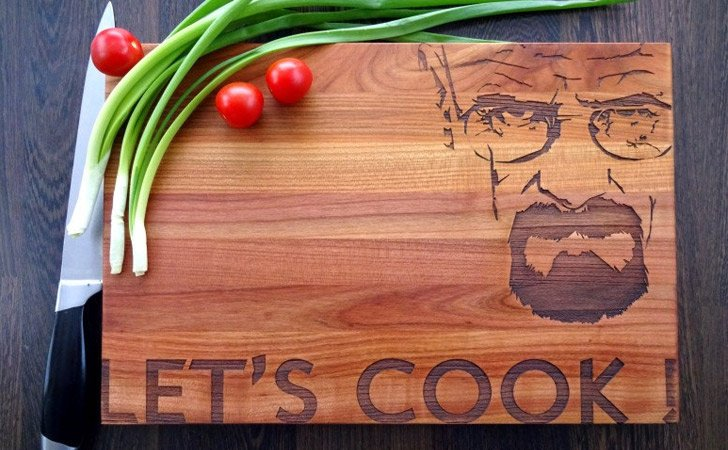 Let's Cook Breaking Bad Cutting Boards