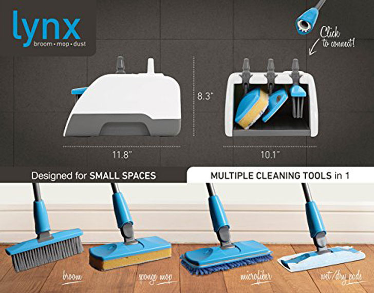 Lynx Dock Home Cleaning Tool Set