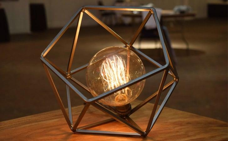 Mercedes Geometric Table Lamp