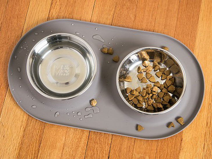 Messy Mutts Double Feed Dog Bowl