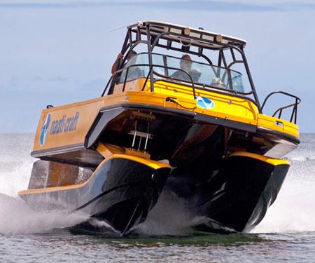 Nauti-Craft Suspension Boat