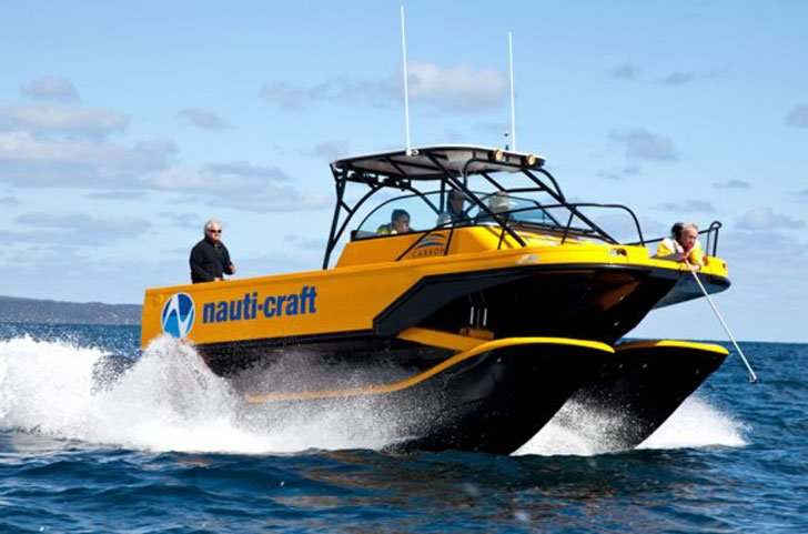 Nauti-Craft Suspension Boat