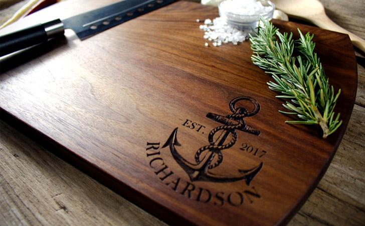 Nautical Theme Cutting Boards