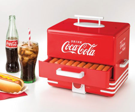 Nostalgia Coca-Cola Hot Dog Steamer