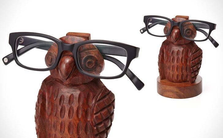 Owl Eye Glasses Holder