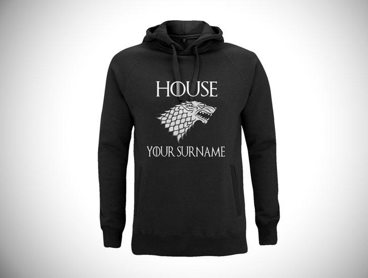 Personalised Game of Thrones Hoodie