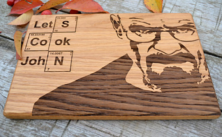 Personalized Breaking Bad Cutting Board - creative gifts for boyfriends