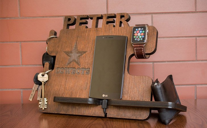 Personalized Docking Station - creative gifts for boyfriends