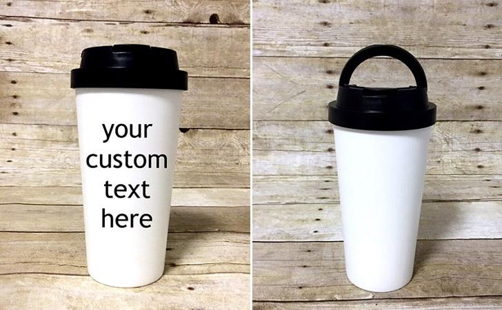 Personalized Travel Mug