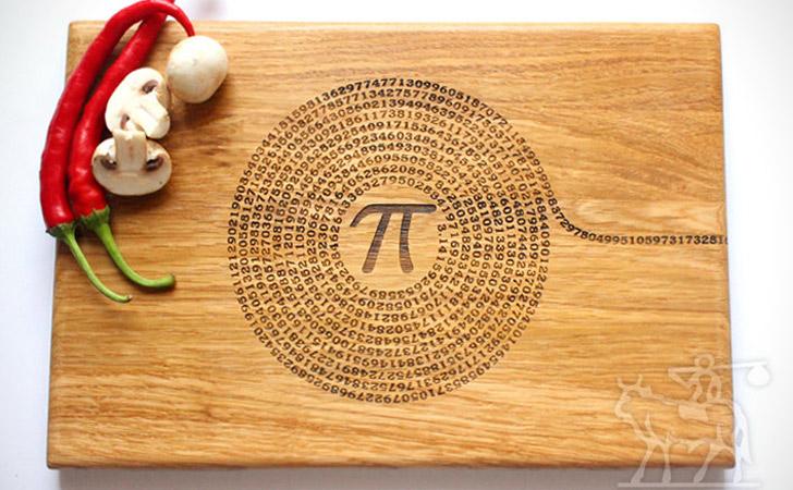 Pi Cutting Board - cool cutting boards
