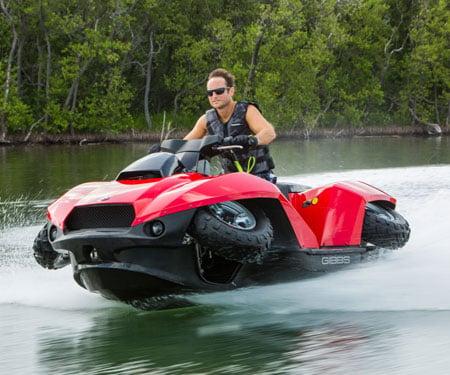 Quadski Amphibian Quad Jet Ski