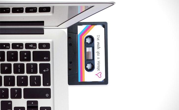 Retro Mixtape USB Drives