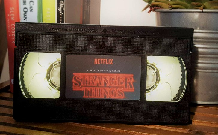 Retro VHS Stranger Things Night Light
