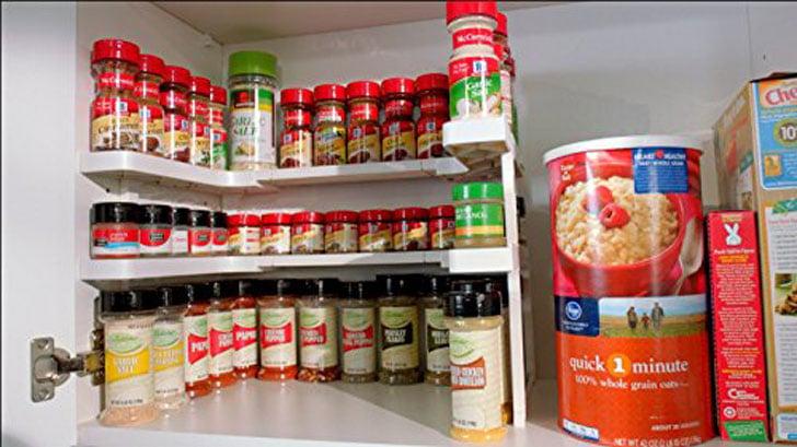 Spicy Shelf Spice Rack Organizer Awesome Stuff 365