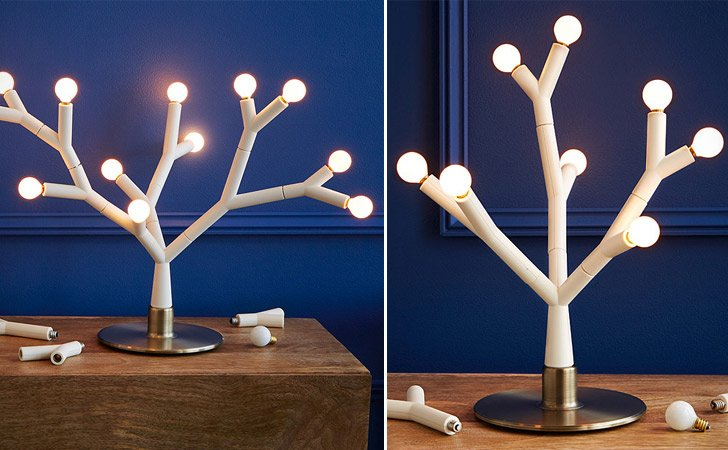 Splyt Light Modular Tree Lamp - Unique Table Lamps